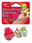 Valentines Food Picks (24pcs)
