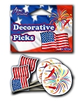 Patriotic Dip Picks (24pcs)