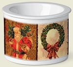 Vintage Christmas Dip Chiller - 2 Cup