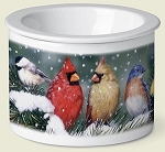 Birds on Snowy Branch Dip Chiller - 2 Cup