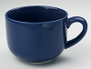 Jumbo Navy Blue Soup Mug 24oz