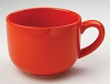 Jumbo Orange Soup Mug 24oz