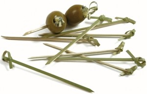 Bamboo Knot Appetizer Picks (50pcs)
