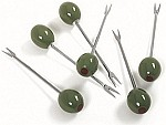 Stainless Steel Olive Picks (Set of 6)