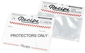 "Recipe Protectors 3"" x 5"" (pack of 24)"