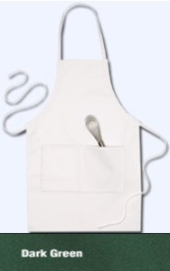Bib Apron - 2 Pocket - Dark Green