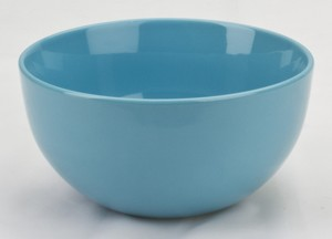 Large Turquoise Soup Bowl - 18 oz
