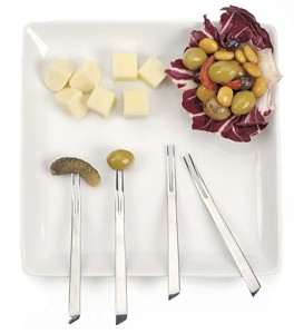 European Style Appetizer-Cocktail Fork - Each